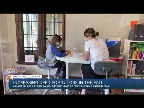 Tutoring services in demand as parents seek support during pandemic