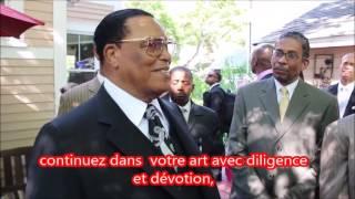 Farrakhan a un message aux artistes