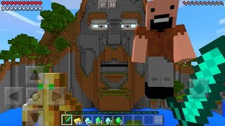 What Happens When You ENTER the Temple of Notch in Minecraft Pocket Edition