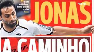 TRIBUTO BTV! JONAS A História E Os 100 Golos Pelo Benfica! Parabéns!