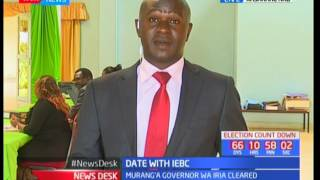 Peter Kenneth and Miguna Miguna among those cleared by IEBC today