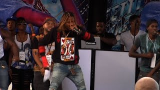 Paterson's High Schoolers Cheer for Free Fetty Wap Concert