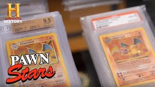 Pawn Stars: Stacks of Pristine Charizard Pokemon Cards (Season 14) | History