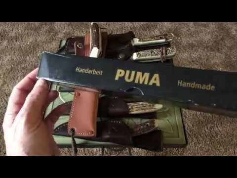 Puma NEW HUNTER Knife Review and ID Info 304