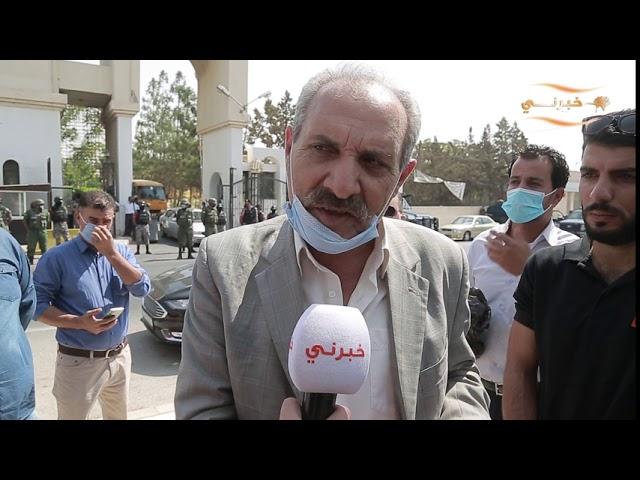 مقابلة مع والد الشاب الذي احرق نفسة في جامعة الإسراء