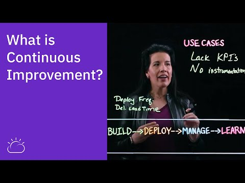 What is Continuous Improvement?