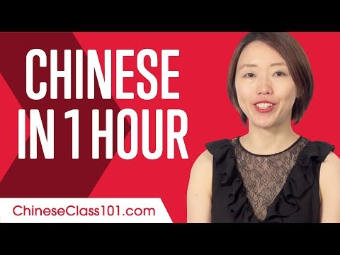 Learn Chinese in 1 Hour - ALL You Need to Speak Chinese ...
