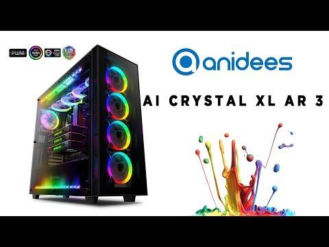PC Build Timelapse - Anidees AI CRYSTAL XL AR 3