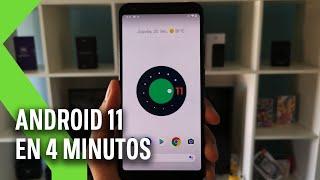 Probamos ANDROID 11 DEVELOPER PREVIEW: en 4 minutos | NOVEDADES respecto a Android 10