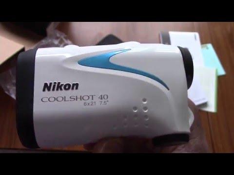 Nikon COOLSHOT 40 Laser golf Rangefinder