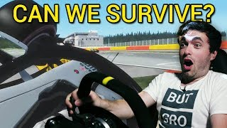 Driving 2018 F1 Cars With 400% Force Feedback!