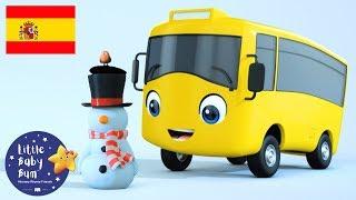Dibujos Animados | ¡NUEVO DIBUJO! | Buster el Autobús | Buster Hace un Muñeco de Nieve