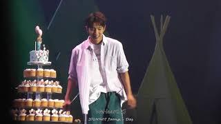 20180407 Joongi's Day - Lee Joon Gi 이준기 Cute Moment ⑦ - Cut Birthday Cake