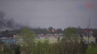 Leżajsk pożar cysterny