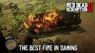 Red Dead Redemption 2 - FIRE IS AMAZING!