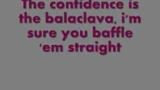 Arctic Monkeys - Balaclava ( Lyrics ) [HQ]