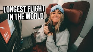 We Went on One of the LONGEST FLIGHTS in the WORLD (while pregnant!) | Qantas Perth to London