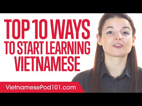Top 10 Ways to Start Learning Vietnamese - YouTube