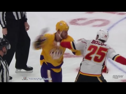Brandon Bollig vs Kyle Clifford
