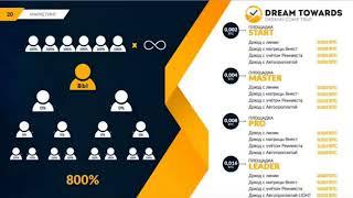 Заработок   DREAMTOWARDS  новый маркетинг, здесь зарабатывает КАЖДЫЙ!!!