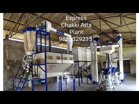 Automatic Chakki Atta Plant