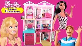 Смотреть онлайн Как выглядит дом для куклы Барби
