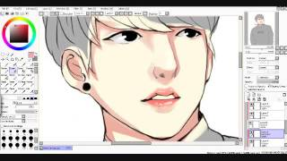 [Speedpaint] Park Hyung Seok From Lookism Webtoon