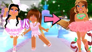 RECREATING OUTFIT CHALLENGE IN ROYALE HIGH! SHAYLO VS AMAYA
