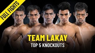 Team Lakay's Top 5 Knockouts | ONE Full Fights
