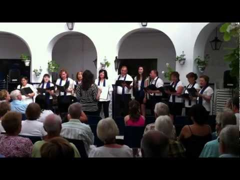 Concierto del Coro de la Escuela Oficial de Idiomas de Murcia, extensión INFANTE.