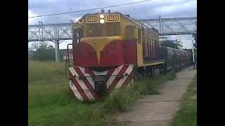 preview picture of video 'LOCOMOTORA GT-22 #9752 DE BC&L S.A SALIENDO DE TAFI VIEJO!!!!!!'