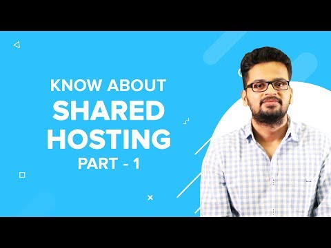 Shared Hosting : All you need to know (Part 1)- TechTalks by ResellerClub