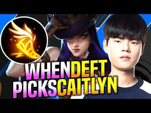 DEFT is SO GOOD with CAITLYN! - DRX Deft Plays Caitlyn vs Xayah ADC! | Preseason 2020 Patch 9.23
