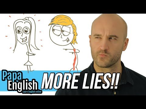 More LIES - English vocabulary about Lying