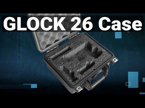 Glock 26 Pistol Case - Featured Youtube Video