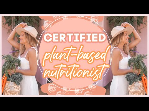 PLANT-BASED NUTRITION CERTIFICATE sharing all the details ...