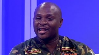 Dr Malinga oh his latest album 'Goodwill'