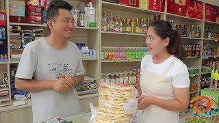 媳婦讓老公看店,沒想老公把20元的餅1元就賣了,太有趣了【小貝愛叨叨】