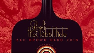 Zac Brown Band - Down The Rabbit Hole Tour Announcement