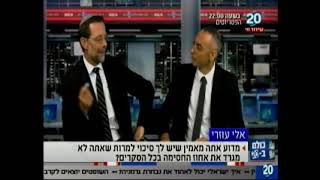 Moshe Feiglin on Channel 20: Zehut is the Only Option