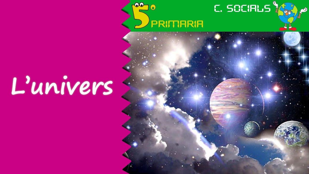 L'univers. Socials, 5é Primària. Tema 1