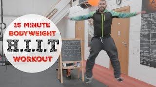 15 Minute Bodyweight H.I.I.T Home Workout by TheZeusFitness