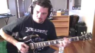 Is It Just Me (with solo) guitar cover The Darkness