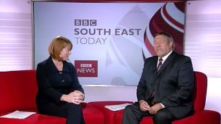 South East Today - September 2009 - Beverley Thompson and Geoff Clark leave the programme.