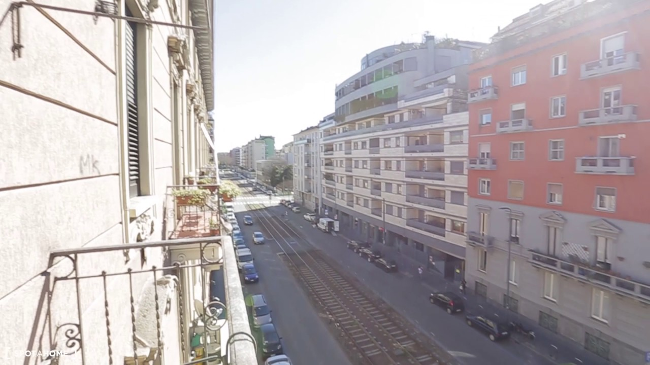 Spacious 1-bedroom apartment with balcony for rent in Calvairate