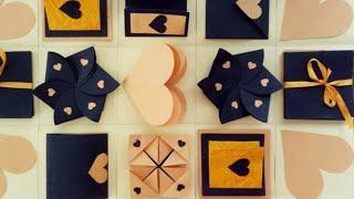 Infinity Explosion Box Tutorial | DIY | Valentines Day / Anniversary Gift Idea