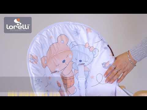 Стульчик для кормления Lorelli Cookie Beige Elephant