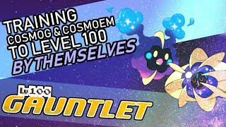 Cosmoem  - (Pokémon) - 416 - Training Cosmog and Cosmoem to Level 100 by Themselves! Lv. 100 Gauntlet
