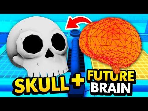 SKULL + FUTURE BRAIN = RICK'S SECRET ROBOT? (Rick and Morty: Virtual Rick-Ality Gameplay)