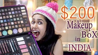 $200 MAKEUP BOX in INDIA | ULTA BEAUTY| Madhuri Desai  - Download this Video in MP3, M4A, WEBM, MP4, 3GP